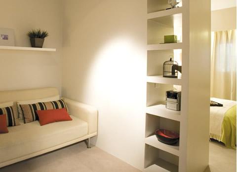 Aprovechar el espacio cuesti n de peque os trucos ekki for Muebles para decorar departamentos pequenos