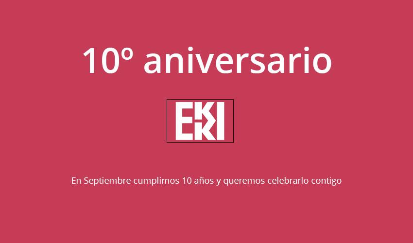 10% Descuento en Armarios Correderas en nuestro 10 Aniversario