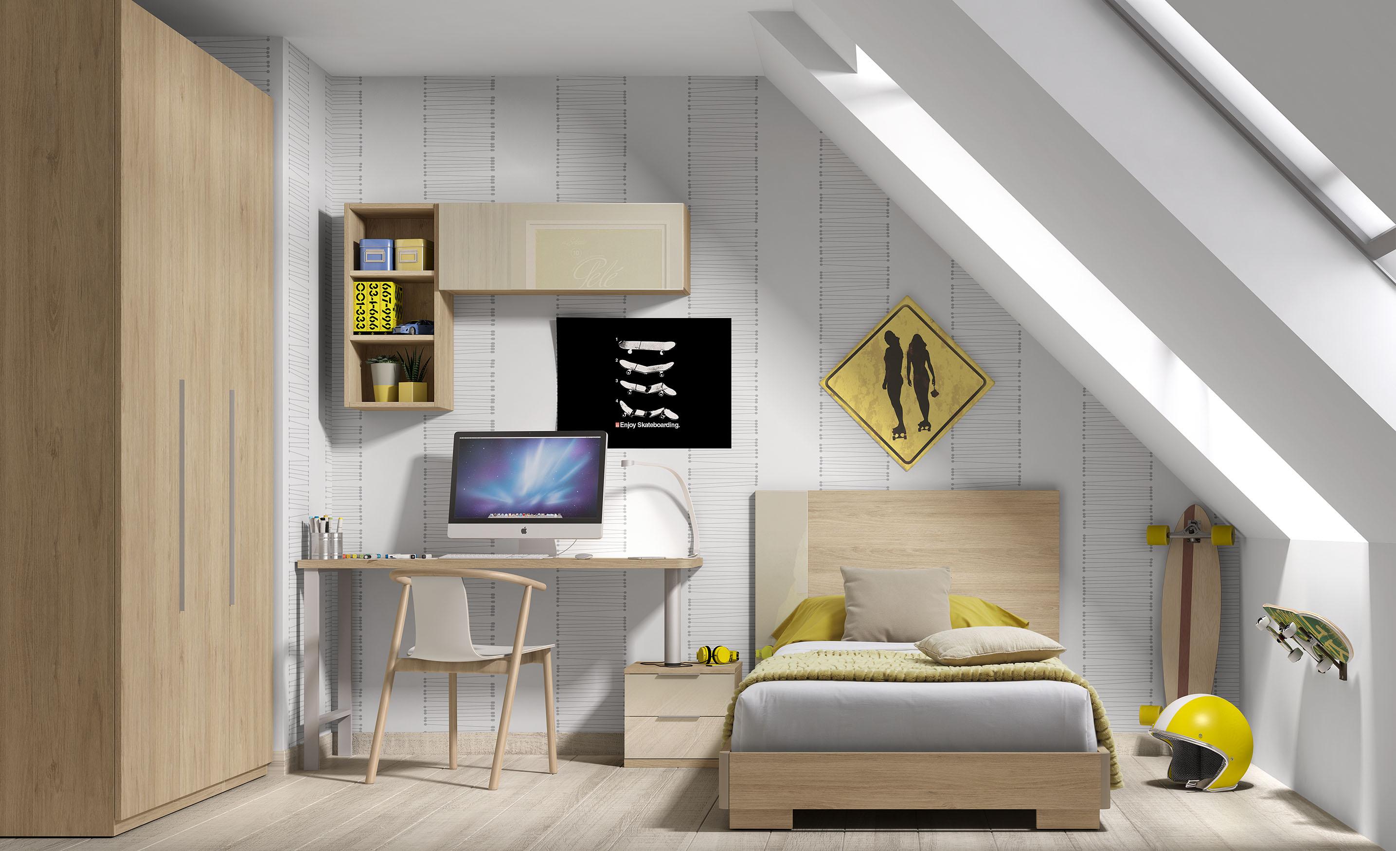 Dormitorio Juvenil Salu2 Ekki # Muebles Eki Hospitalet