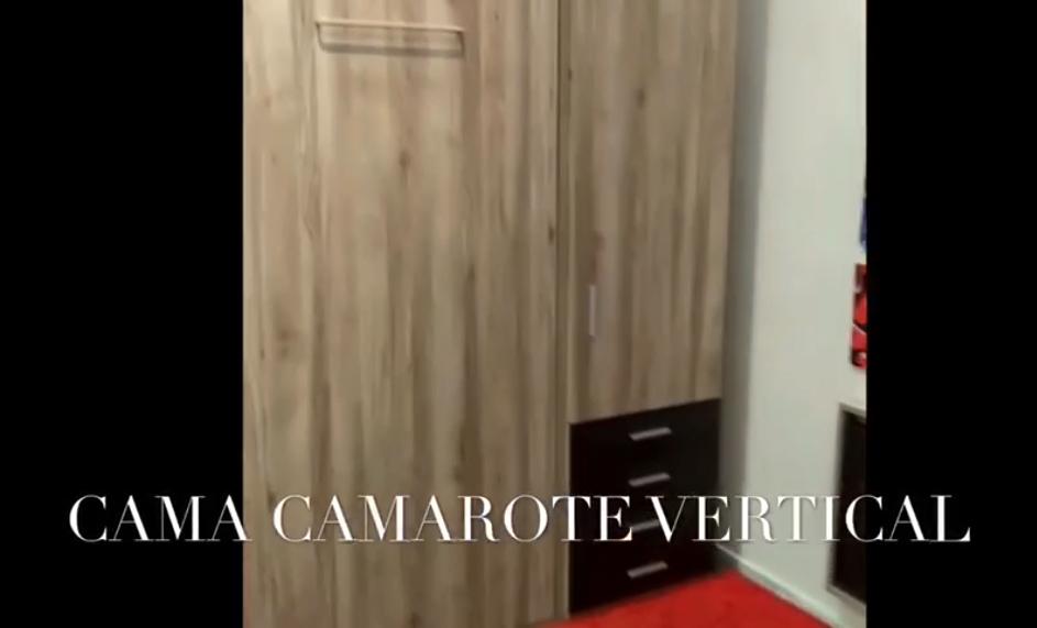 Cama Camarote Vertical