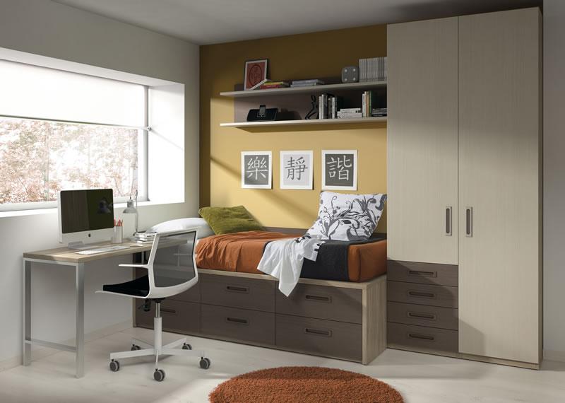 crear un dormitorio juvenil